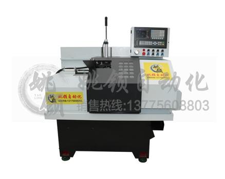 南通40-SK-100B短料自动化机械手数控车床