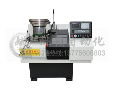 溧阳32-SK-100B短料自动化机械手数控车床