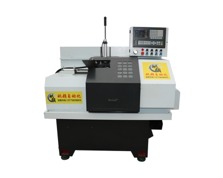 40-SK-100B短料自动化机械手数控车床