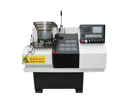 32-SK-100B短料自动化机械手数控车床
